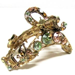 Bling Hair Claw Crystals Covered - CAT